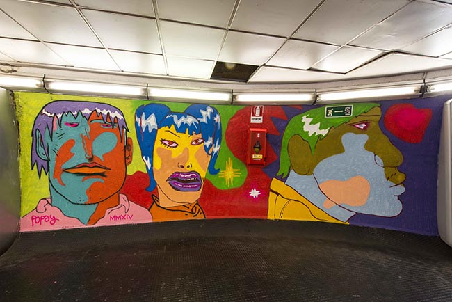 Popay_2-Stazione Metro Spagna@Francesco Fioramonti