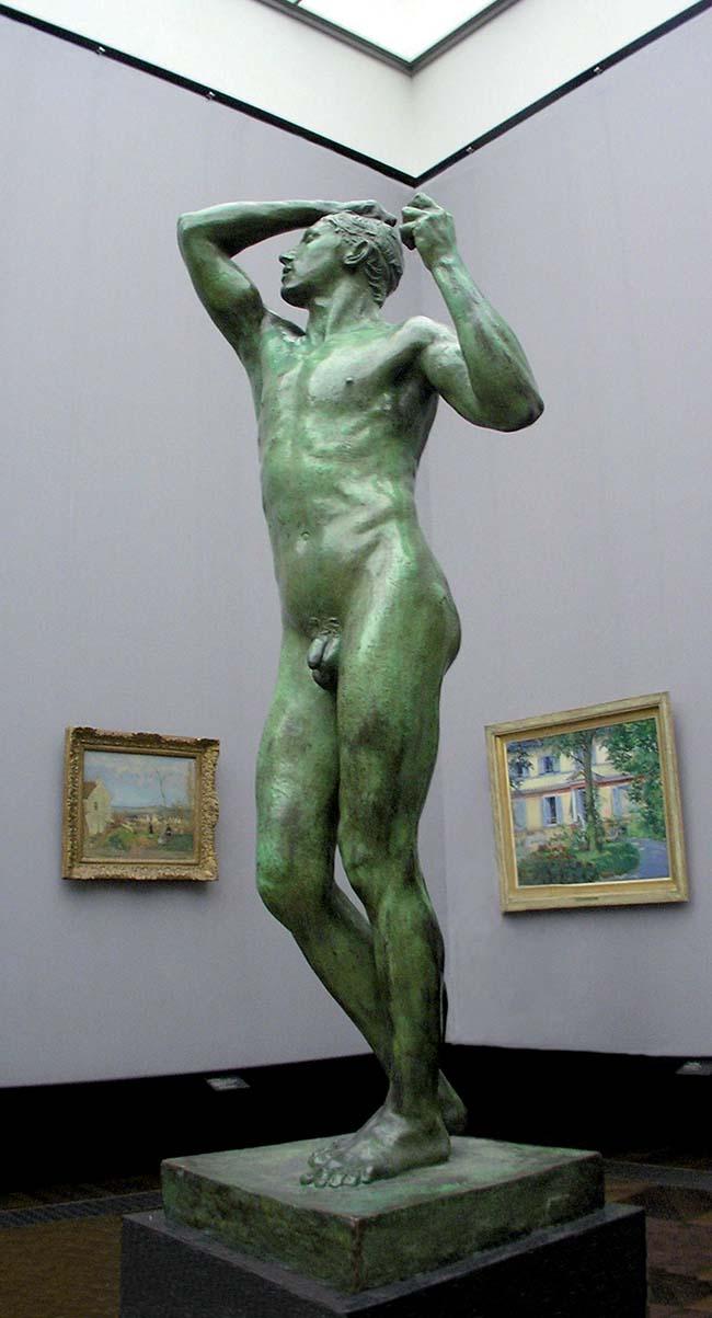 Auguste Rodin,  L'età del bronzo