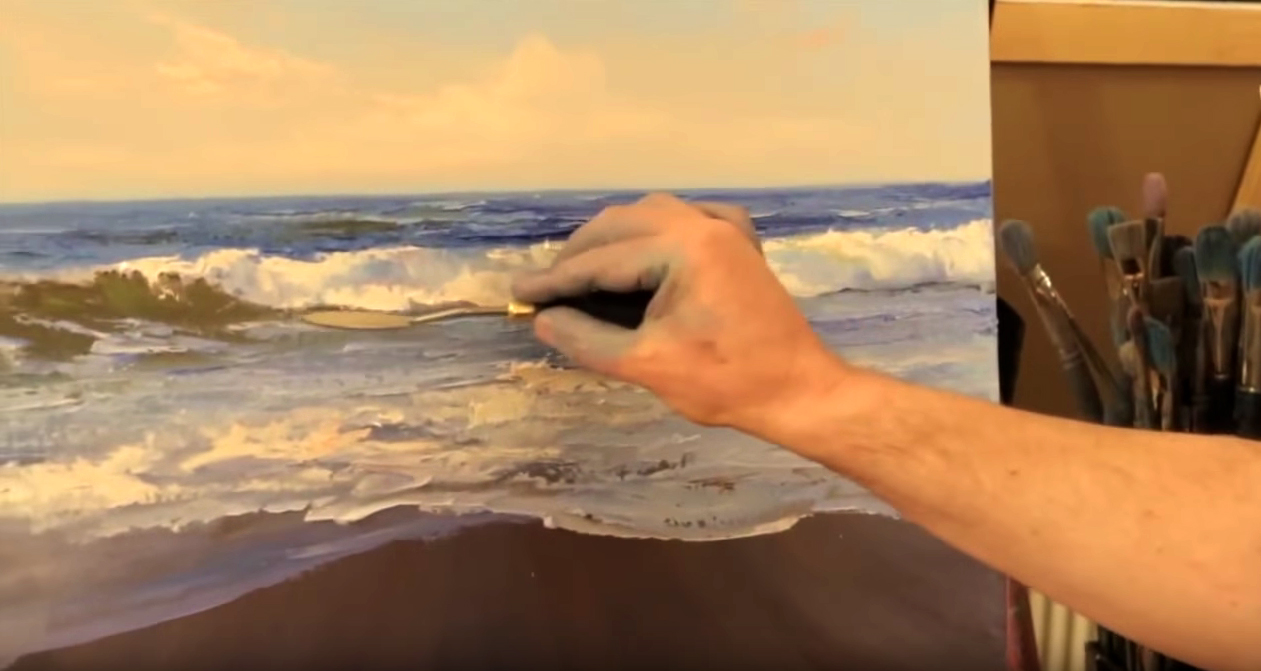 Exceptionnel Come dipingere le onde – Video tutorial – Stile Arte FK11