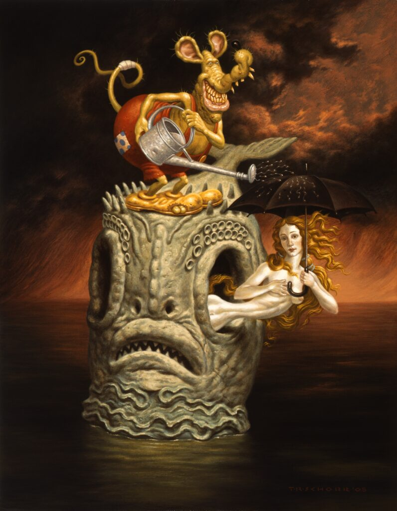 Todd Schorr, Lost at Sea