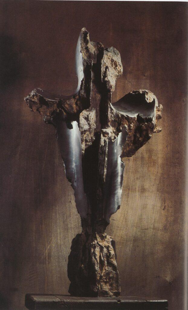 Francesco Somaini, Grande martirio piagato, 1960