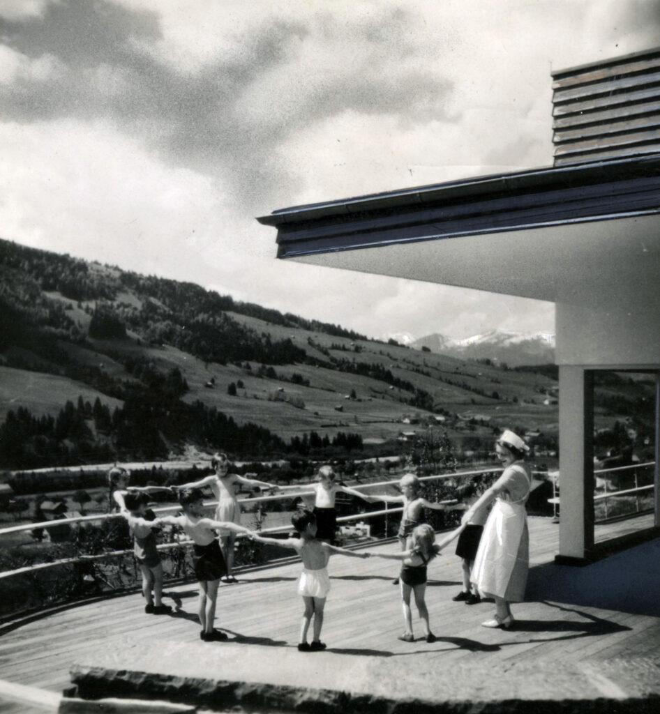 Gio Ponti, progetto per una funivia nelle Dolomiti, da Bolzano, passando per Ortisei, fino a Cortina, Italia, 1941-1942