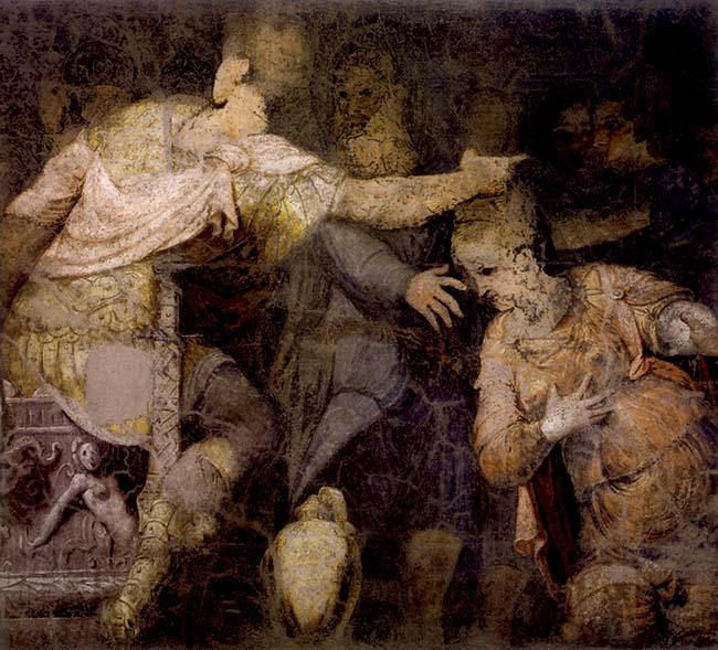 Lattanzio Gambara, La continenza di Scipione
