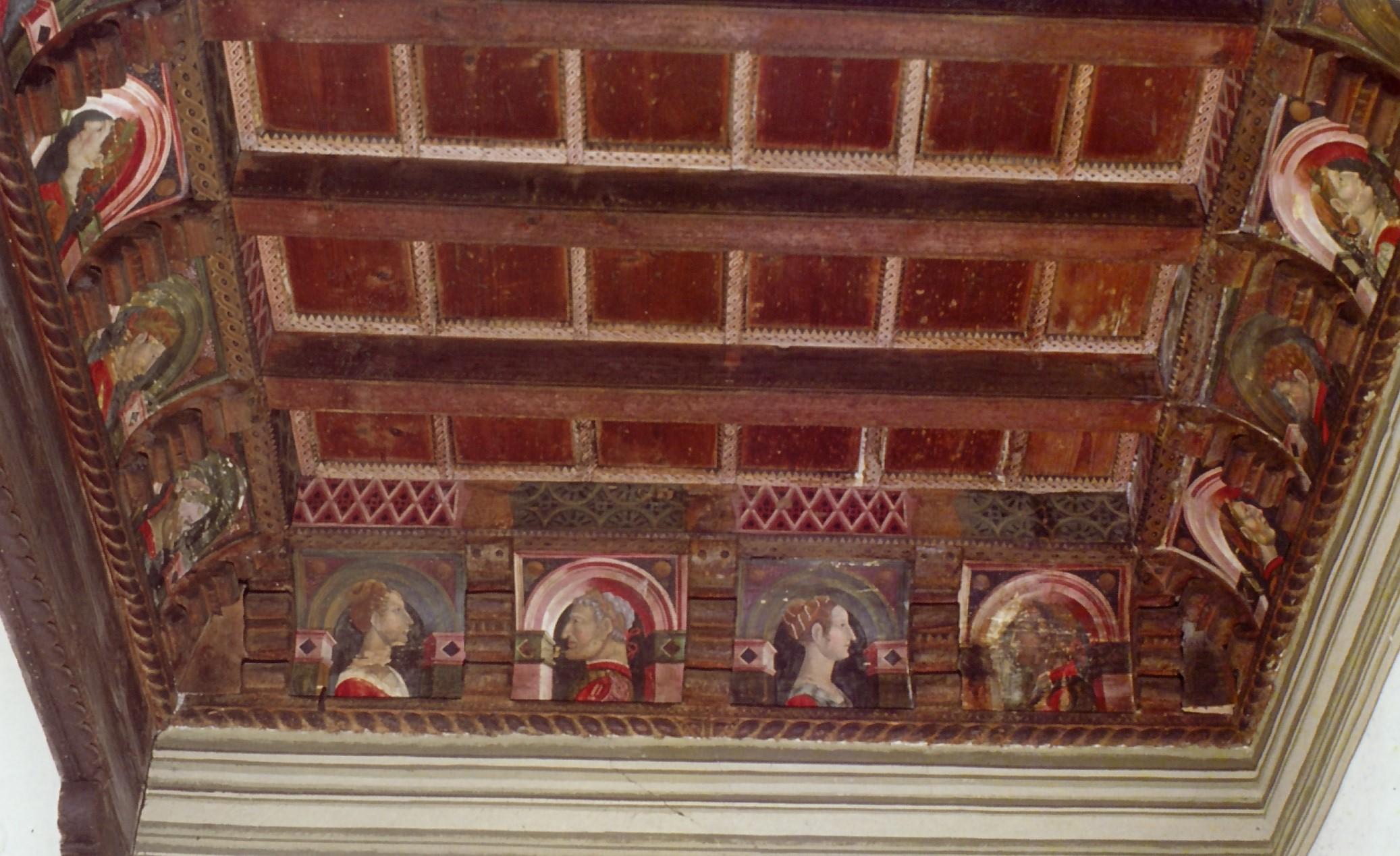 Tavolette lignee da soffitto quando il rinascimento for Soffitto della cattedrale di legno