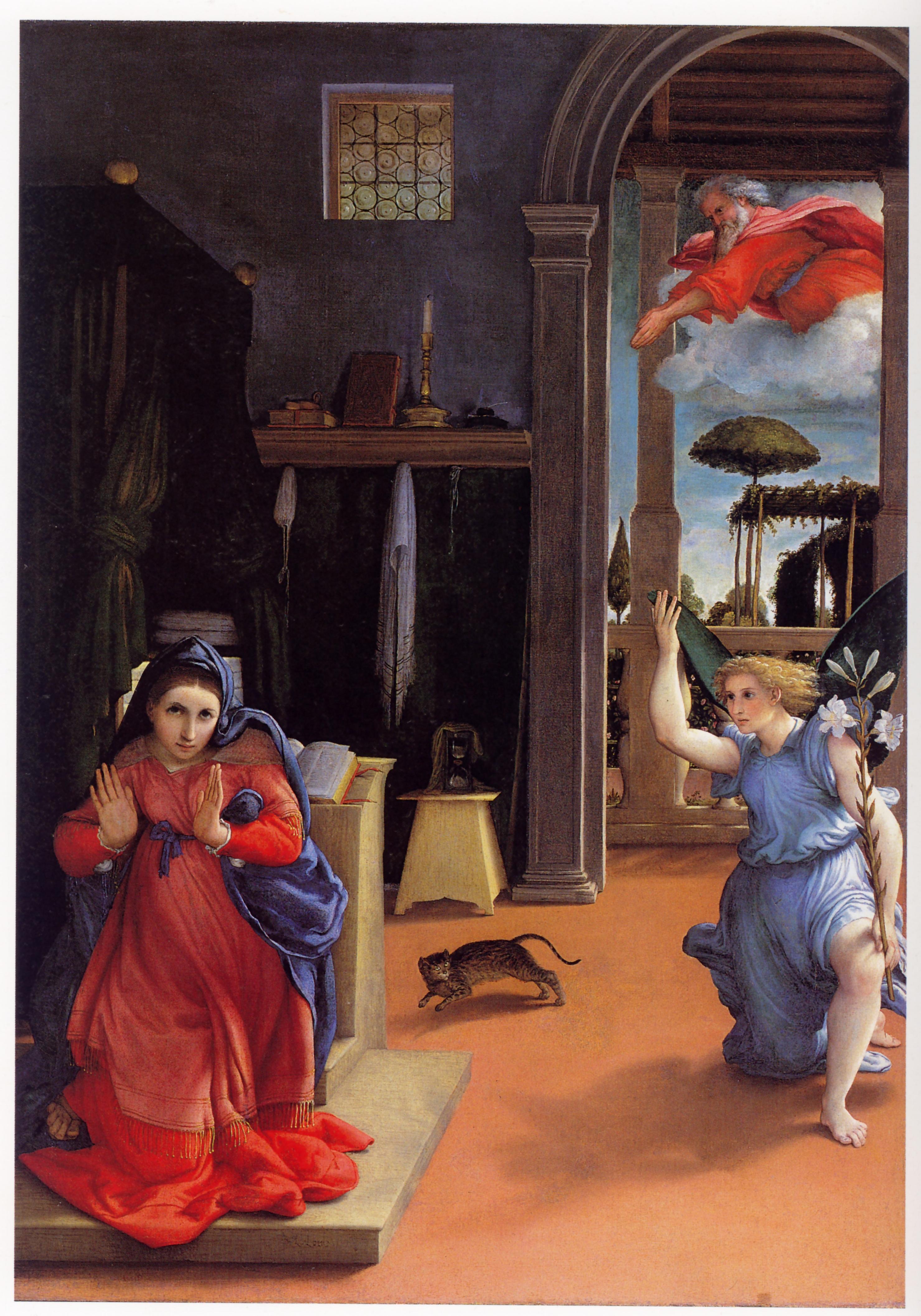Gatti e gattini satanici nella pittura dal medioevo al for Abbellimento del lotto d angolo