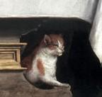Alessandro Bonvicino detto il Moretto, Cena in Emmaus, (particolare), 1526 circa, olio su tela, 147 cm × 305 cm, Brescia, Pinacoteca Tosio Martinengo