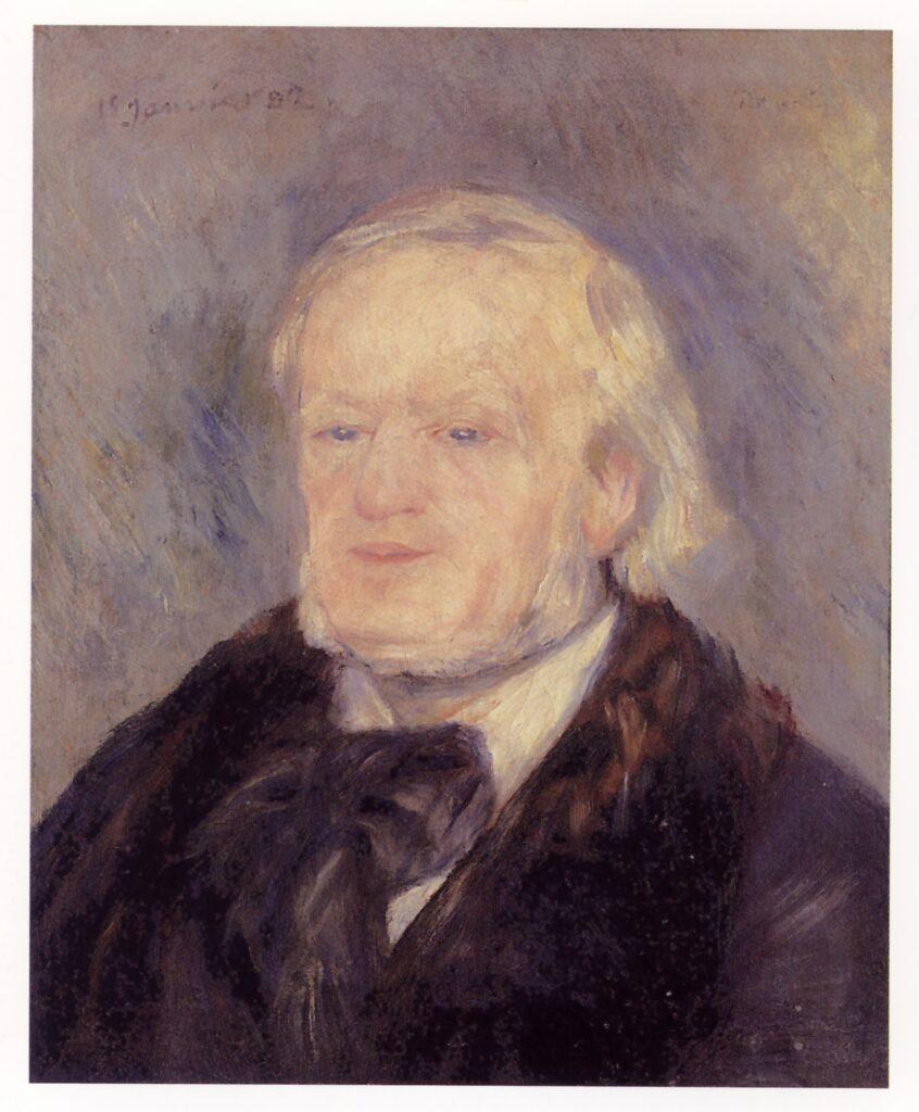 Pierre-Auguste Renoir, Ritratto di Wagner, 1882
