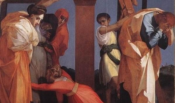 La deposizione dalla croce. Rosso Fiorentino e altri artisti. Rosso-3