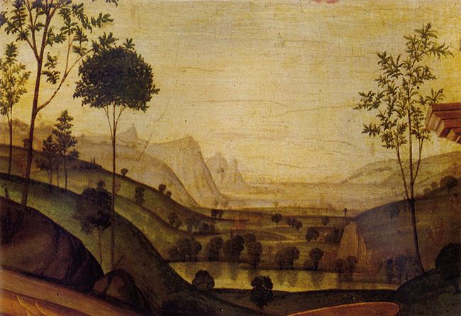 santi paesaggio