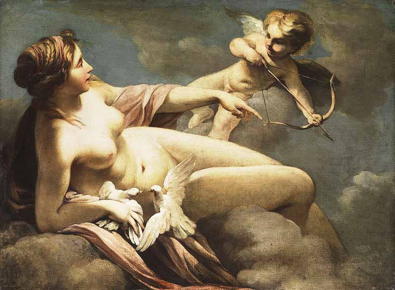 Sebastiano Ricci, Venere e Amore