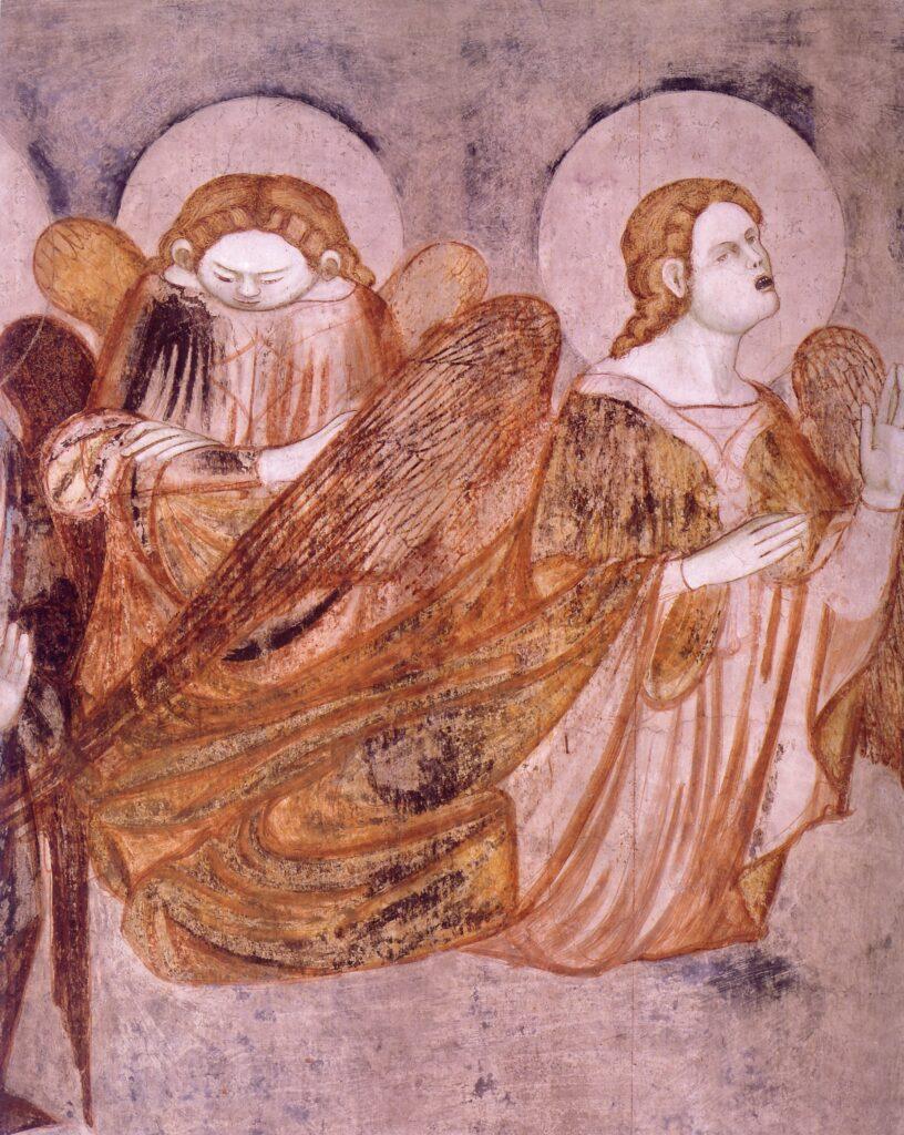 Stefano fiorentino,-Corteo-funebre, particolare-di-due-angeli-posti-al-di-sopra-della-barella