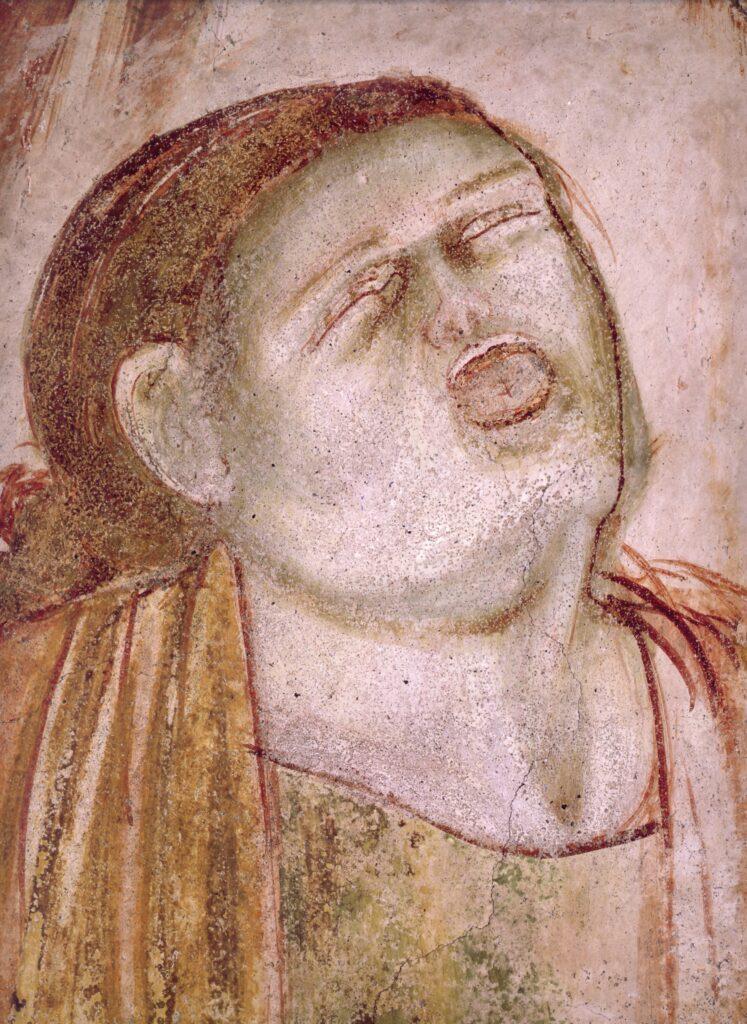 Stefano fiorentino,  Corteo funebre-particolari di volti