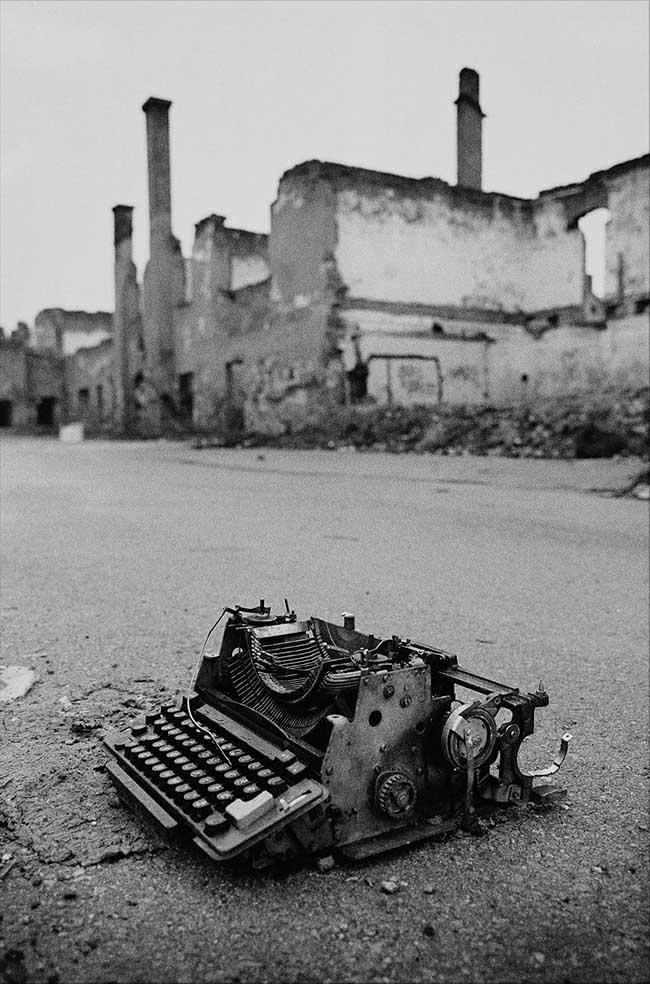 Pierpaolo Mittica: La memoria, Sarajevo, Bosnia Herzegovina, 1997