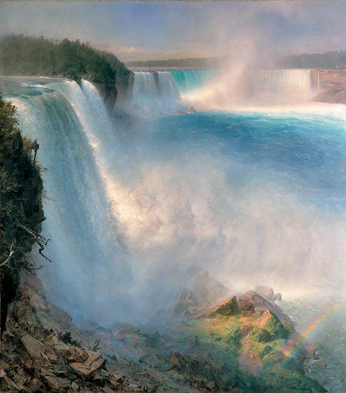Church, Le cascate del Niagara sul versante americano