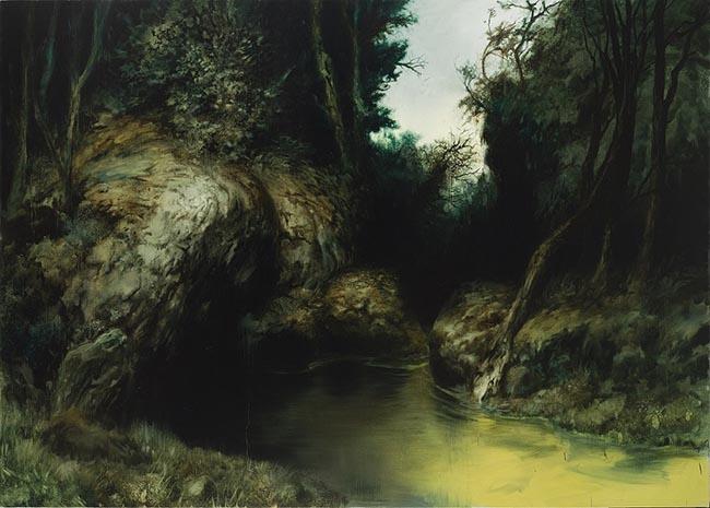 DE GRANDI, October, olio su tela (2012), cm 180x250, LL