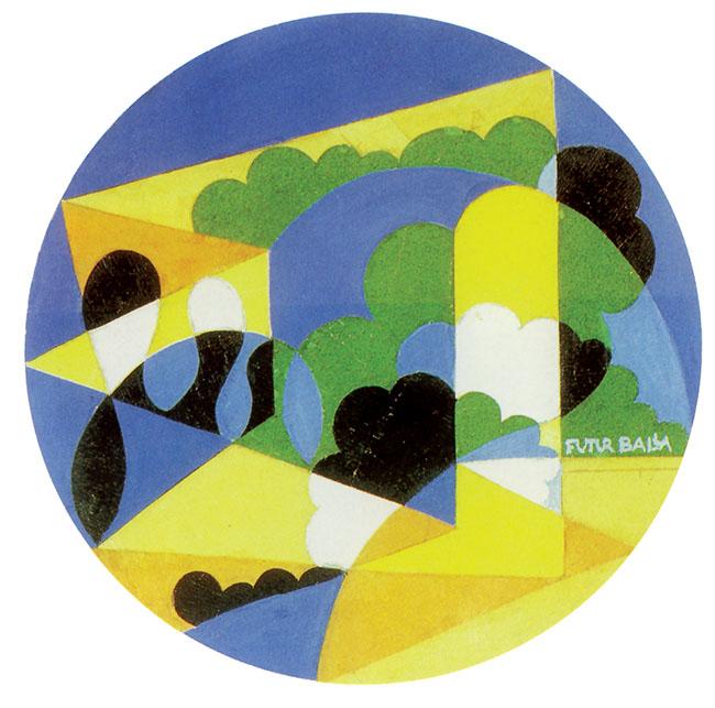 Paesaggio FuturBalla, 1922-25