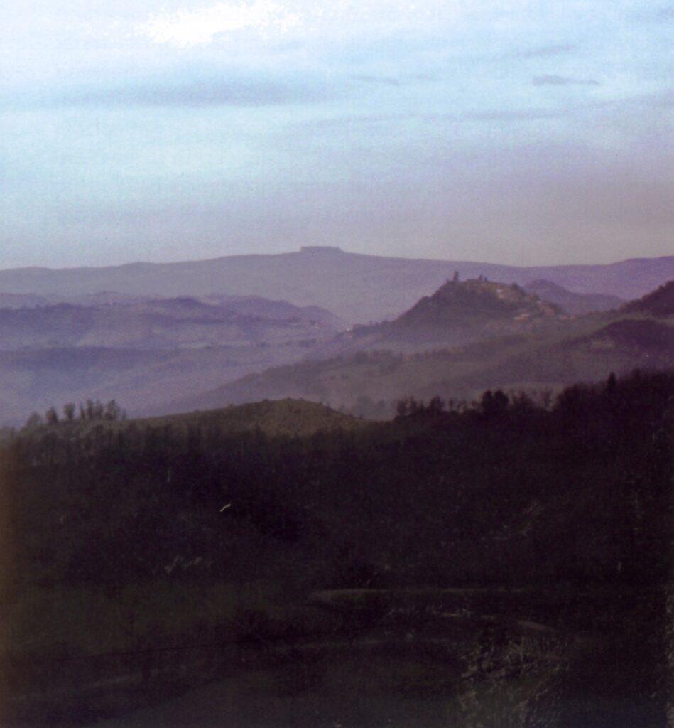 Valle fiume metauro-area destra