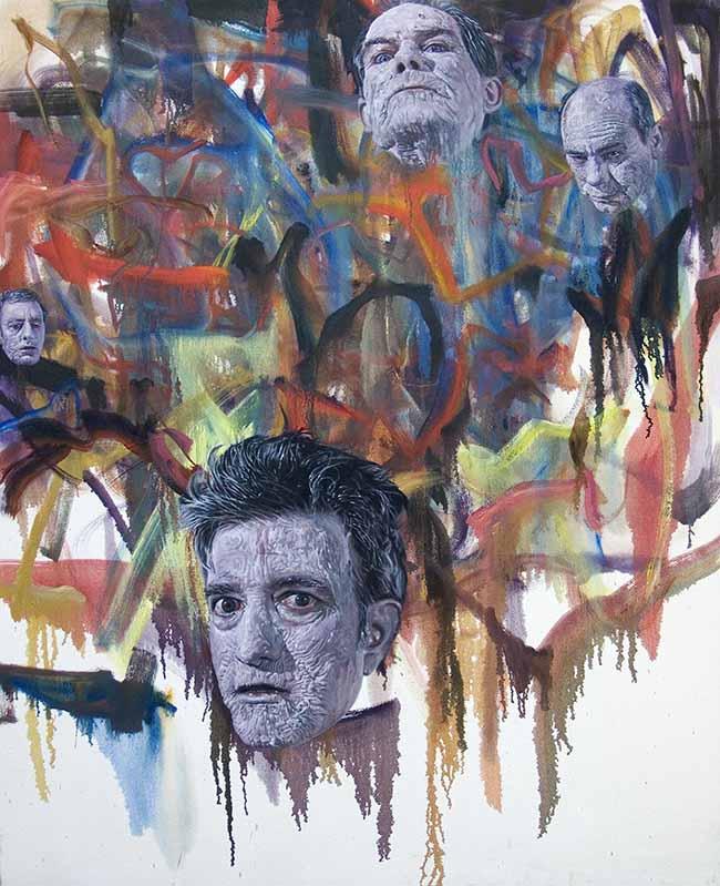 Jim Shaw Zombie Painting #3, 2007 Olio su pannello Courtesy dellâartista e Praz-Dellavade, Parigi