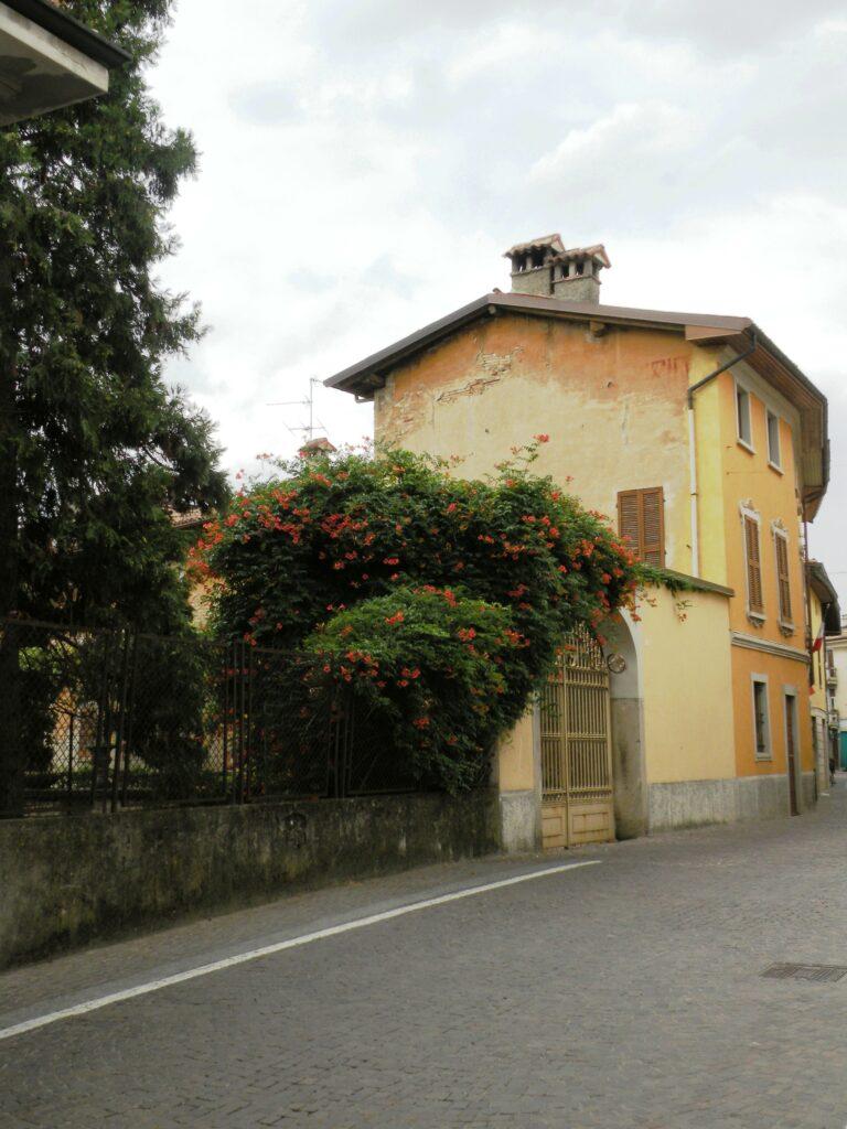 Dopo la cessione del palazzo ai marchesi Sforza, Gian Giacomo Aratori abitò, con la propria famiglia in questa zona, a porta Folcero. Qui fu accolto, in età prescolare anche il piccolo Michelangelo