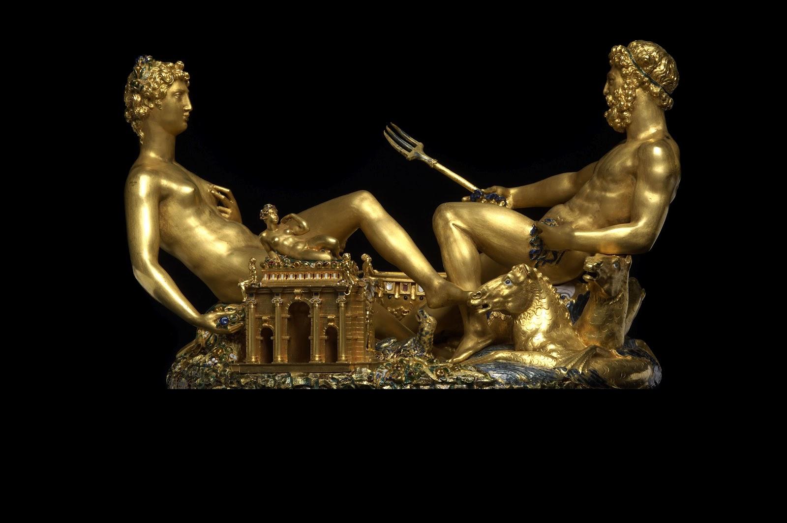 La salira di Benvenuto Cellini, opera orafa dello scultore toscano