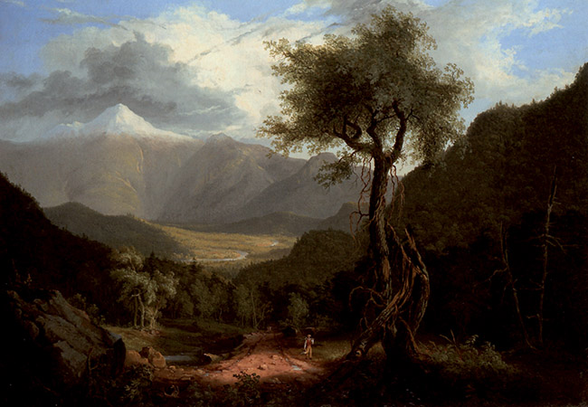 Thomas Cole, Veduta delle White Mountains