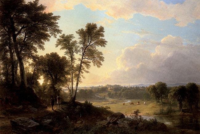 Asher Brown Durand, La valle del fiume Hudson