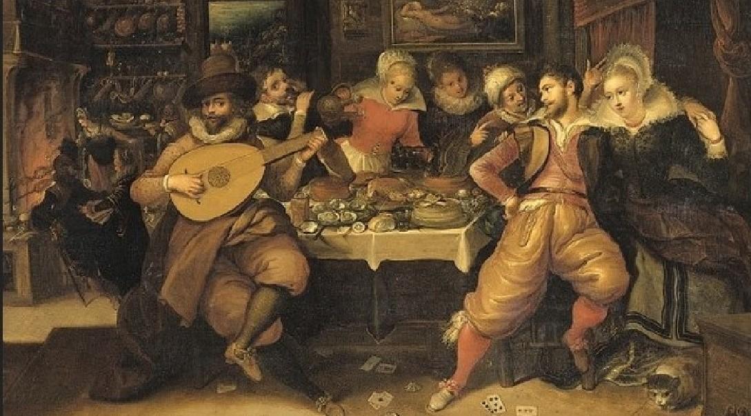 Frans Francken il Giovane (1581-1642), Il Figliol prodigo