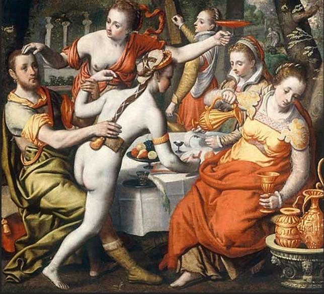 Pieter Aertsen (1508 circa-1575), Il Figliol prodigo
