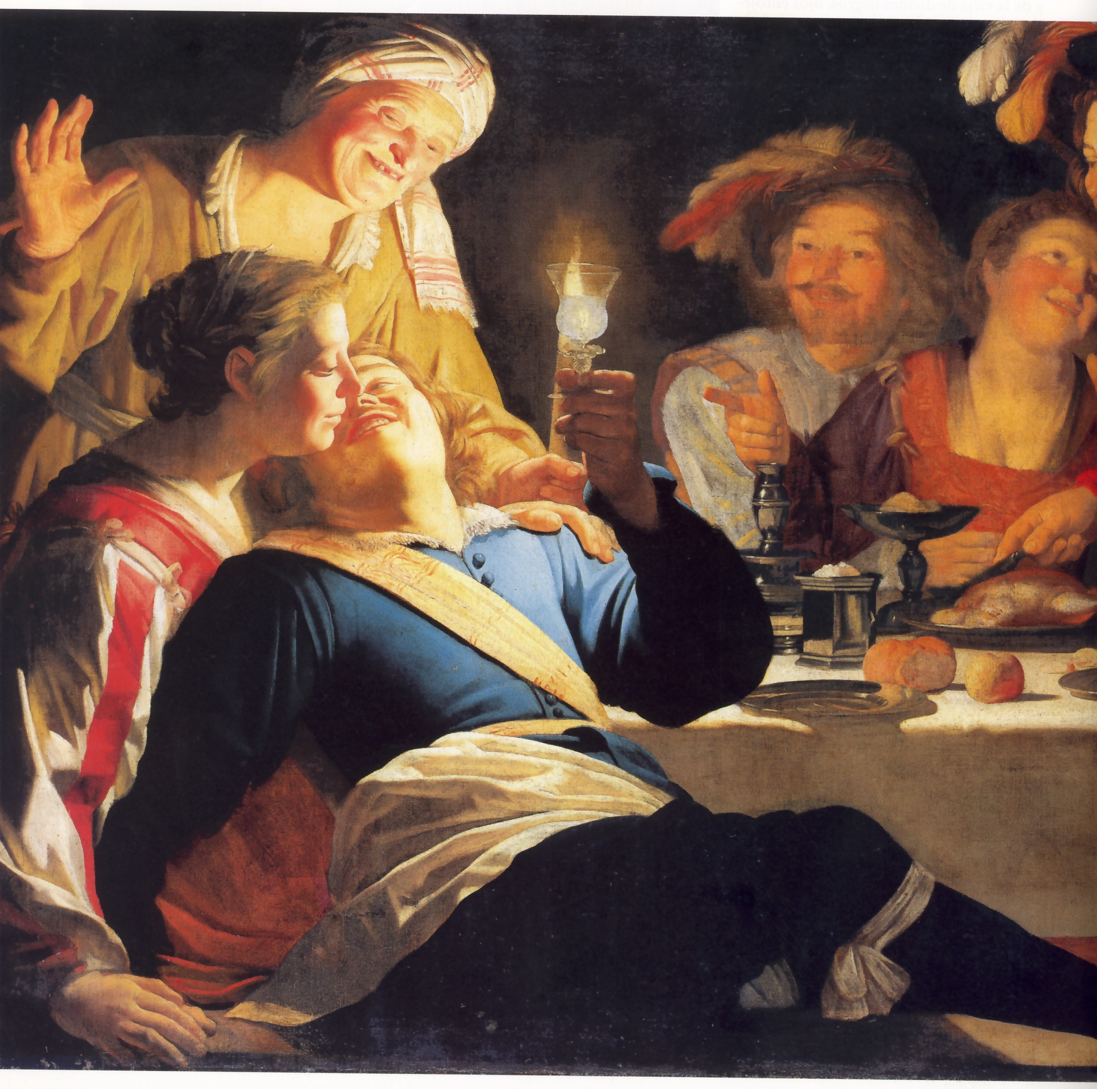Gerard van Honthorst (1592- 1656), Il figliol prodigo