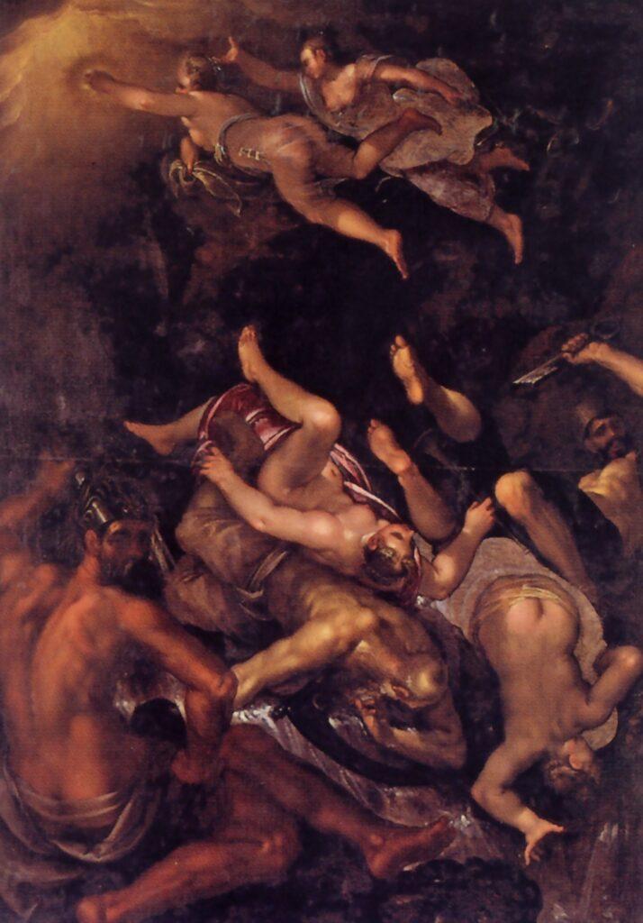 Giovanni Contarini, Caduta di Saturno