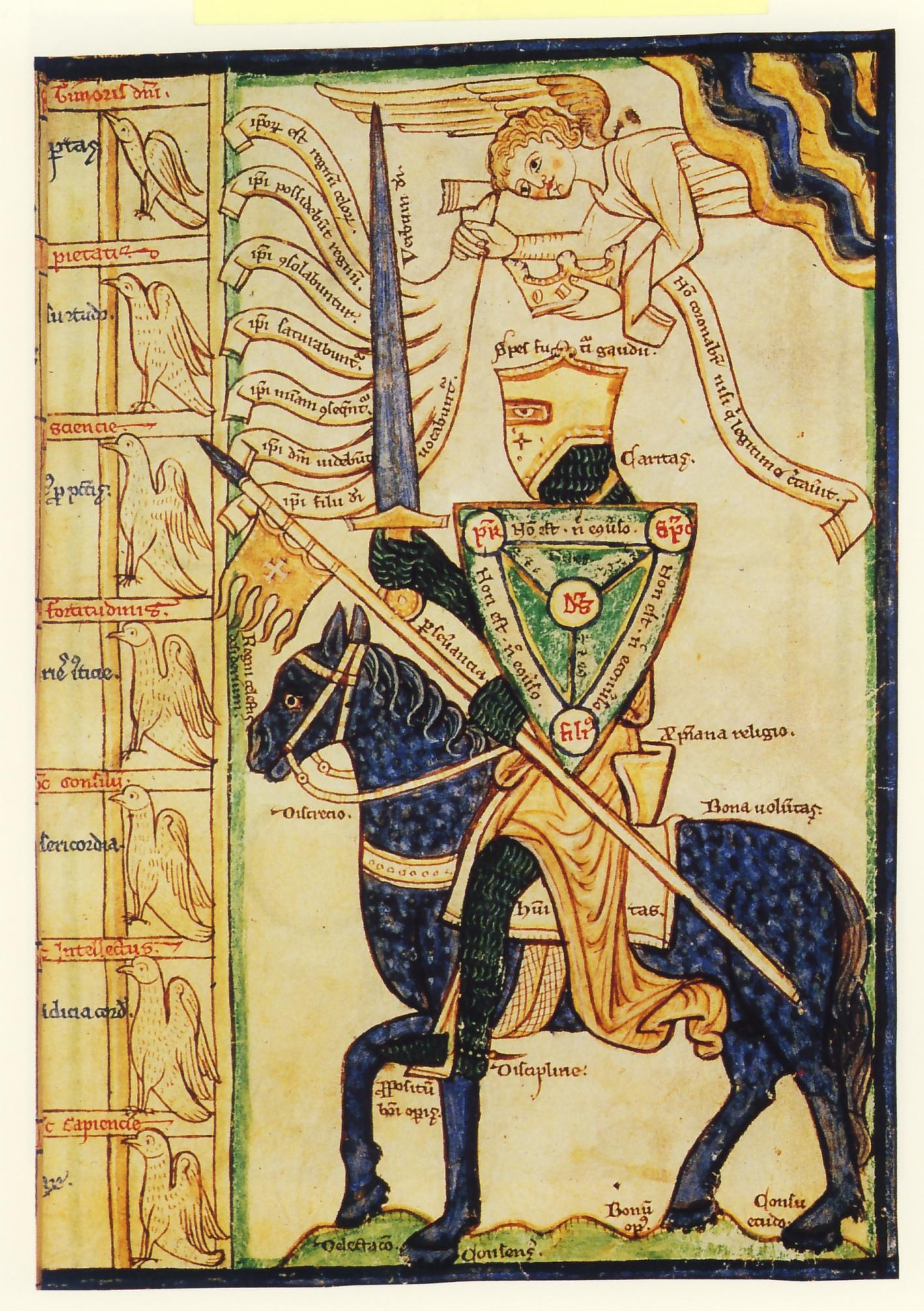 Il cavaliere contro i vizi