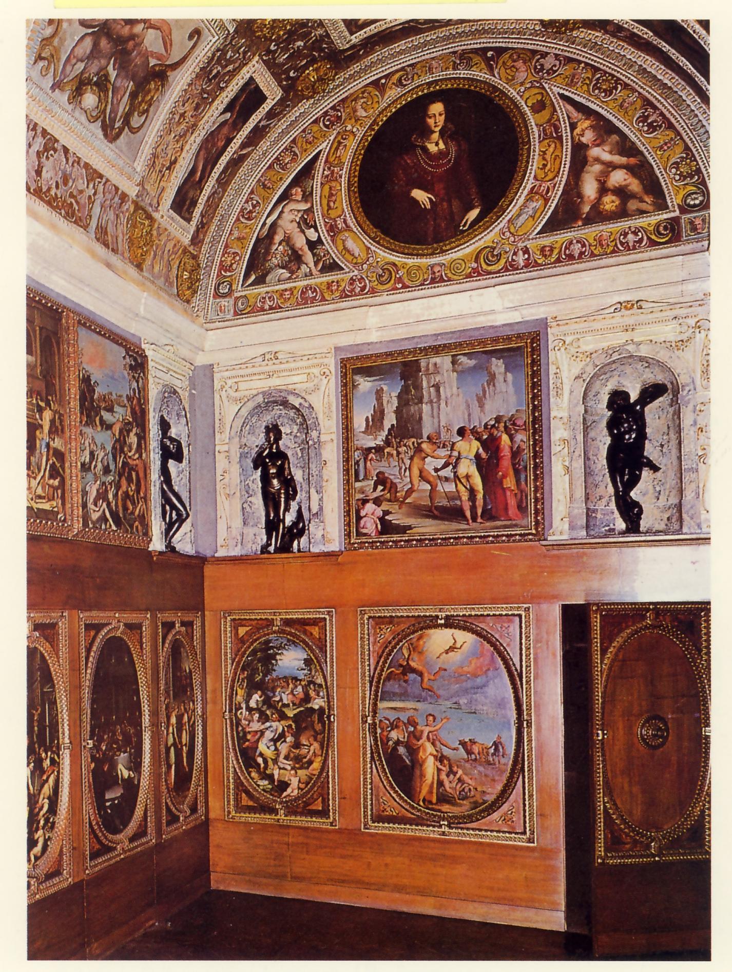 Lo stanzino di Palazzo Vecchio a Firenze