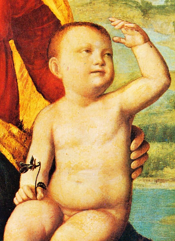 Foto di bambino con grande pene