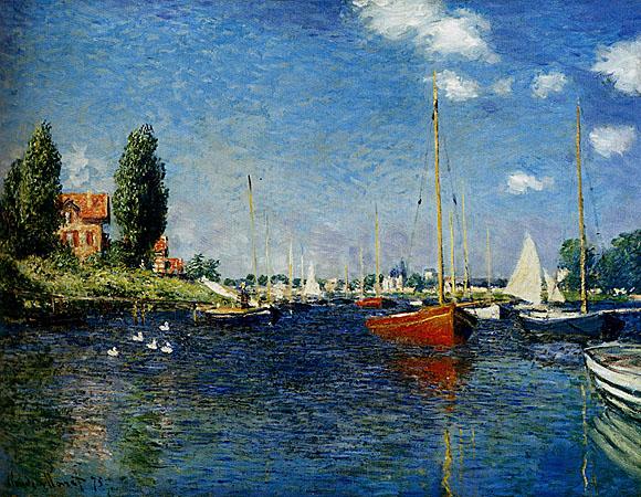 Monet e gli impressionisti utilizzano le nuvole come indicatore dello sfilacciamento rapido del tempo e della poetica dell'istante