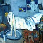 Pablo Picasso, Camera blu, 1901