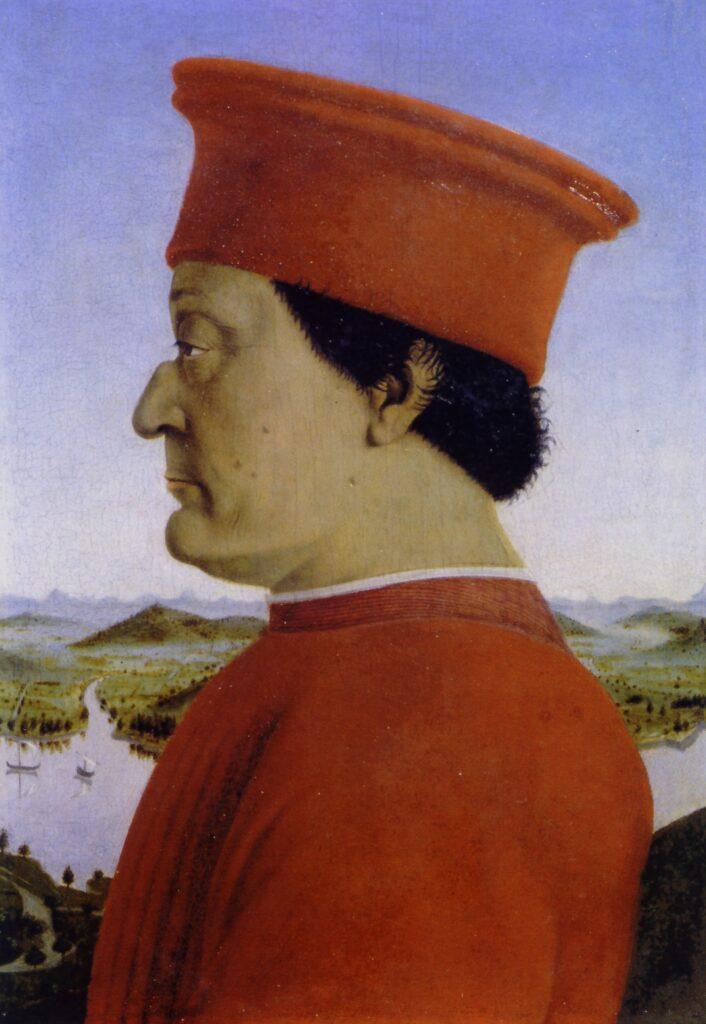 Piero della Francesca, Federico da Montefeltro.