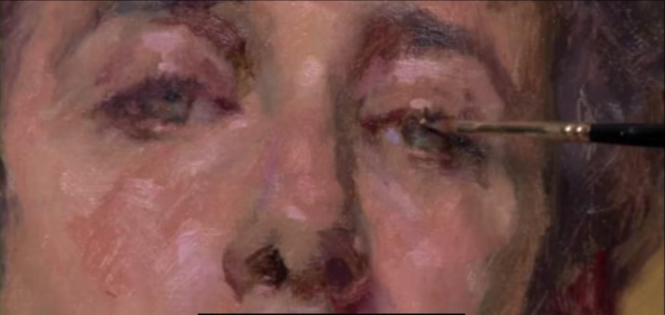 Un ritratto alla prima, realizzato con colorismo puro, senza disegno preparatorio, secondo la tecnica degli impressionisti e, prima di loro, di alcuni dipinti della scuola veneta del Cinquecento. Potremo imparare a dipingere alla prima, cliccando più sotto