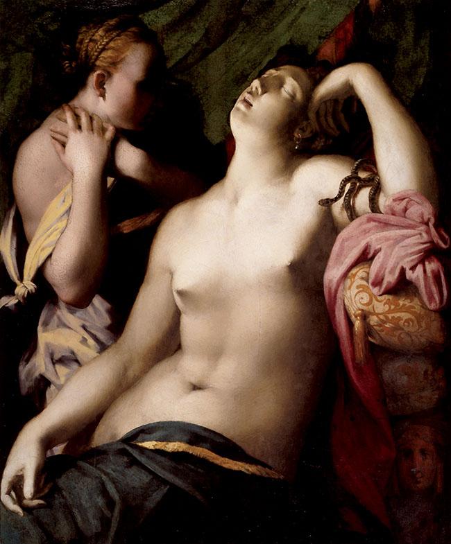 Rosso Fiorentino, Morte di Cleopatra