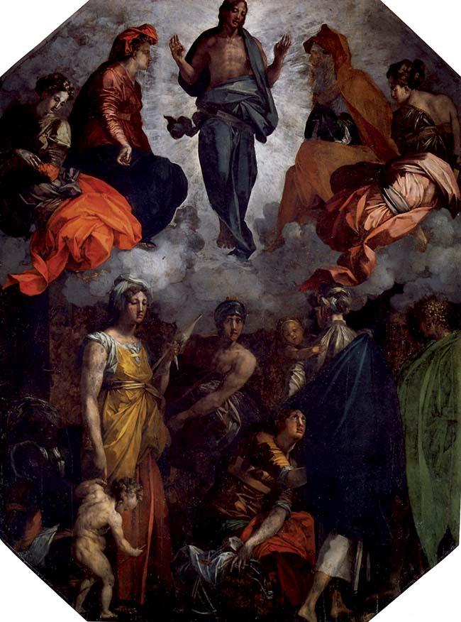 Rosso Fiorentino, Cristo resuscitato e glorioso