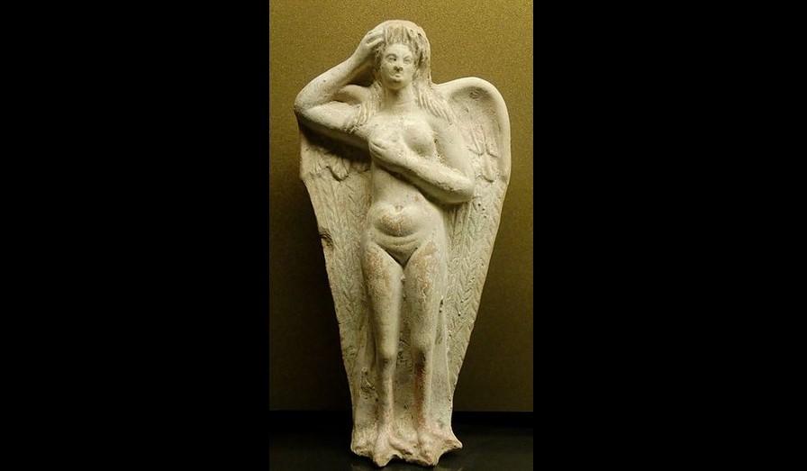 Sirena, statua funeraria del I secolo a.C. proveniente da Myrina