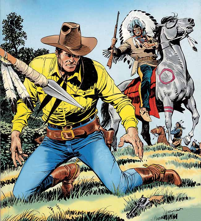 Tex Willer, personaggio ideato da Bonelli e Galleppini