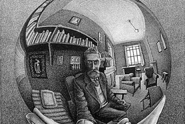 Le incisioni e le grafiche suggestive di Escher in mostra a Roma
