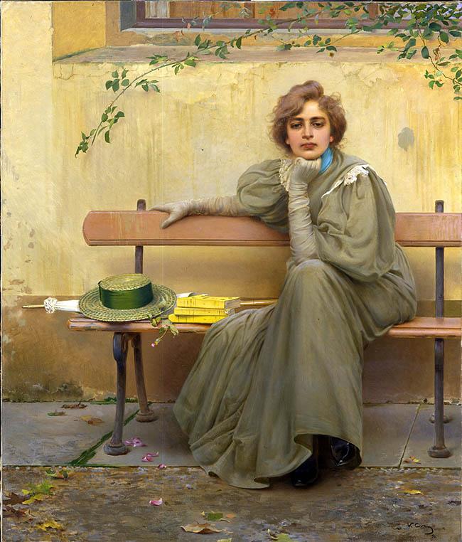 Sogni, 1896, Galleria Nazionale d'Arte Moderna e Contemporanea di Roma