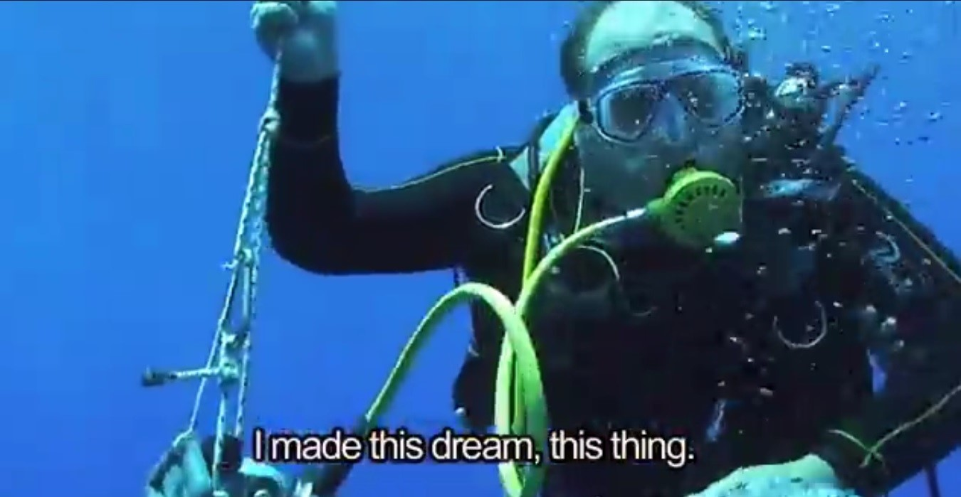 """Un'immagine del documentario """"Il sogno di Omero"""""""