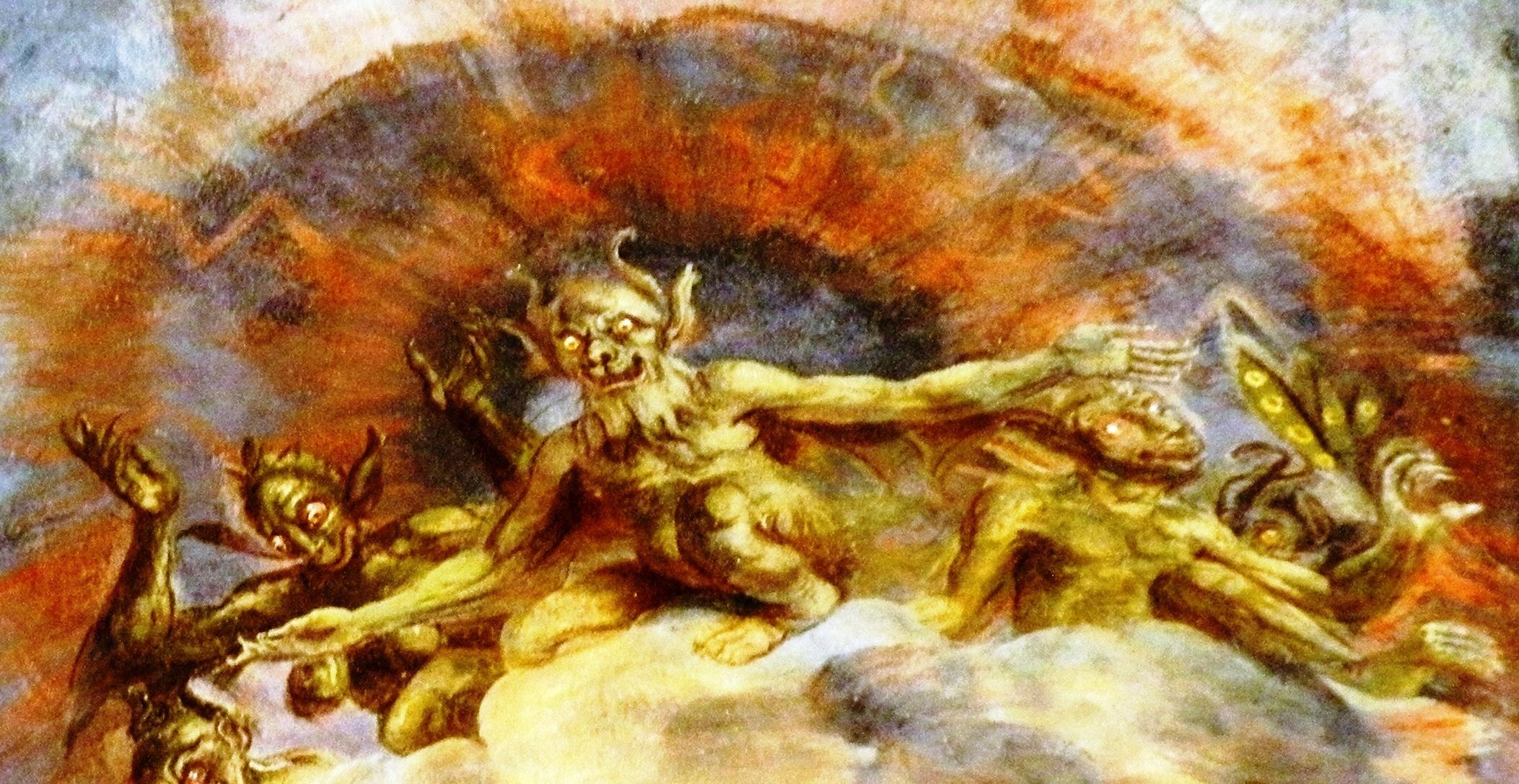 Dipinto parietale della Madonna del Varallino