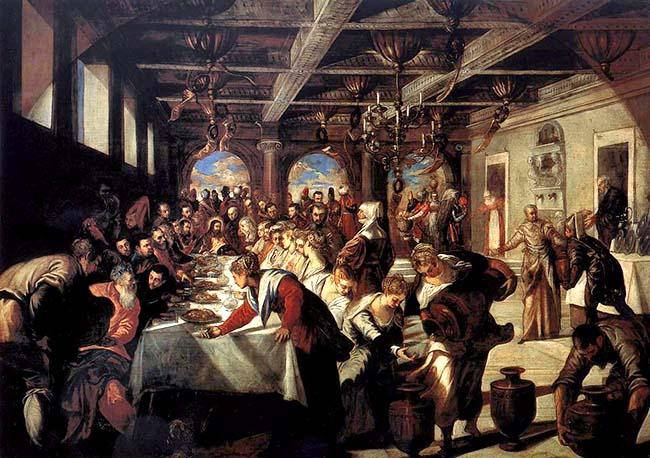 Tintoretto, Le nozze di Cana
