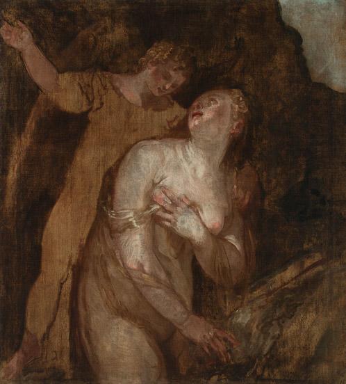 Paolo Veronese, Maddalena e angelo