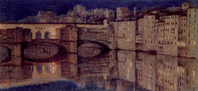 William Holman Hunt, Il Ponte Vecchio a Firenze