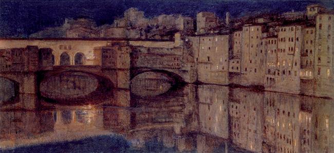 William Holman Hunt, Il Ponte Vecchio a Firenze