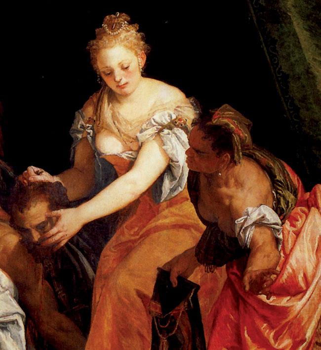2 - Giuditta con la testa di Oloferne (Genova, Palazzo Rosso)